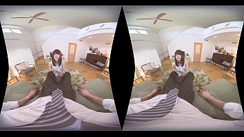 Young Wife Gives You a Perfect Blowjob When You Get Home Japanese teen VR Porn