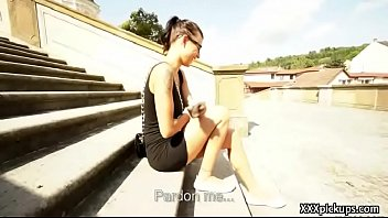 Public Dick Sucking With Euro Secy Amateur Teen Outdoors 04