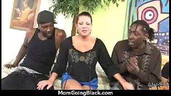 Horny mom loves black monster cock 20