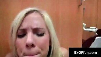 Big tit hottie Britney Beth rides hard dick in cowgirl