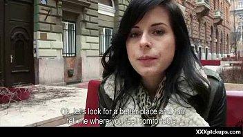 Public fucking - Sexy sluts banged hardcore in public 11