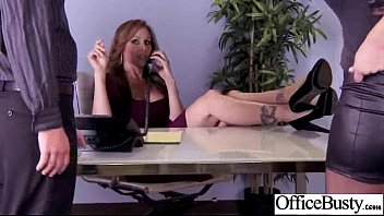 Big Melon Tits Girl (julia olivia) Get Bang Hardcore In Office clip-21