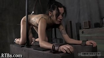 tying up bombshell for horny penalty