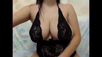 Milf teases her big  breast milk boobs