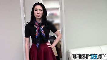 propertysex - uber-sexy dark-haired real estate agent home.