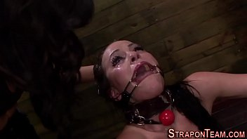 corded spider gag victim plaything
