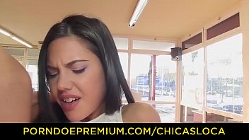 chicas loca - spicy girl apolonia plowed in.