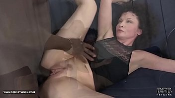 Old woman fucks with a bbc 2