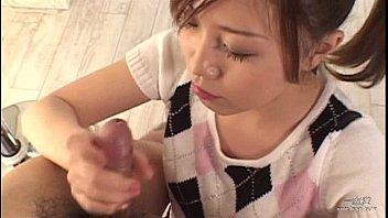 Japanese girl gives blowjob Aina Nakasato