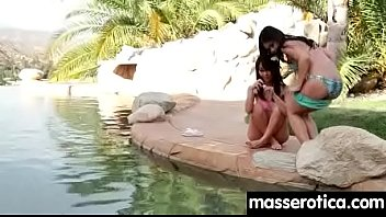 Young girl has session with nasty lesbian 24