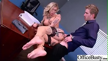 Hardcore Intercorse In Office With Big Round Tits Girl (Kleio Valentien) mov-13