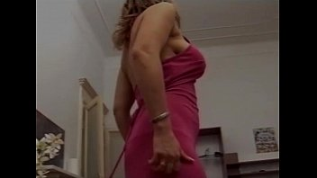 Hot hairy blond italian milf with big tits fucked
