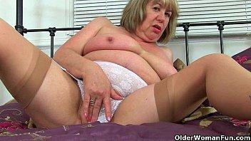 uk grannies trisha and zadi love penetrating a.
