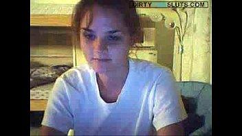 Stripping Webcam Teen