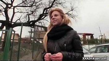 Teen Czech Girl Sucking Cock For Cash In Public Video 10