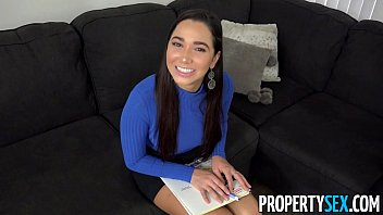 propertysex - curvaceous real estate agent shagging her.