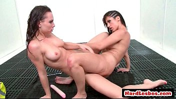 Hot and mean big tit lesbian babes hardcore fuck video 04