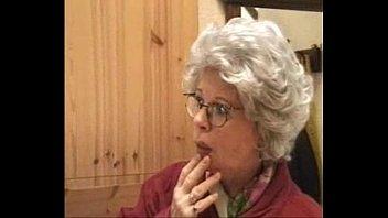 grannie and grandson penetrate stiff