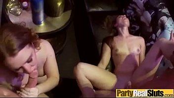 (nicki &amp_ ryan &amp_ tiffany) Teen Party Girls Enjoy Hard Group Sex On Tape clip-10