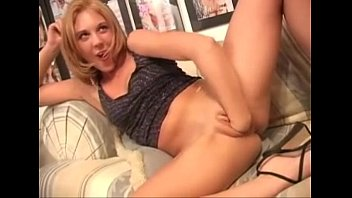 Cute Blonde Fist'_s Her Self Tell She Squirts