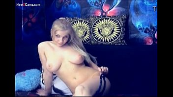 magnificent hefty-chested blond web cam doll.