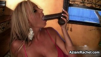 chesty ash-blonde honey goes naughty deep-throating