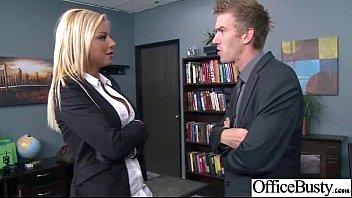 (britney shannon) Big Tits Office Girl Fucks Hardcore movie-09