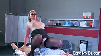 (Sunny Lane) Superb Patient Seduced By Doctor In Hardcore Sex clip-25