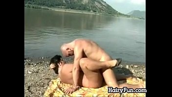 massive and fur covered grandma pounding by the lake