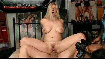 Sexy Big Tit Blonde Rides Cock