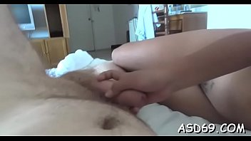 Horny thai chick widens her hips to get pussy fingered