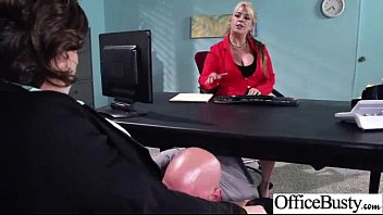 (krissy lynn) Office Girl With Big Melon Tits Enjoy Hard Sex In Office mov-23