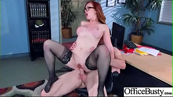 dani jensen office good-sized-chested whore nymph in firm.