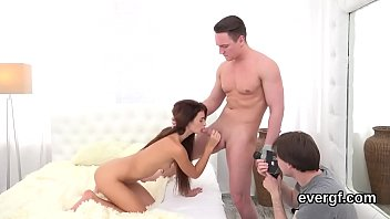 Dirt poor stud allows kinky friend to fuck his ex-gf for bucks