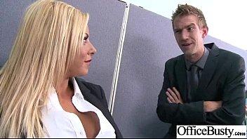(britney shannon) Big Tits Office Slut Girl Banged Hardcore vid-06