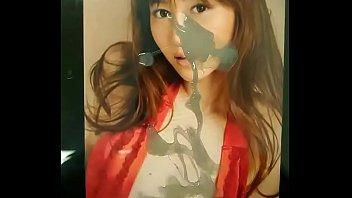 Cum tribute for Japanese model 杉原杏璃 Sugihara Anri