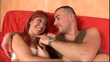 Slut redhead teenager in her first porn audition