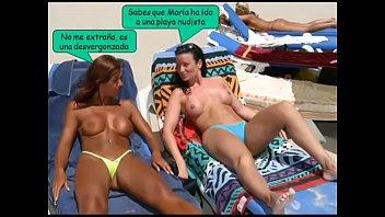 swimsuits en la playa