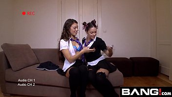 BANG.com: Hot Young Harlots Experiment In Their Dorms