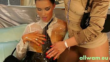 Oily babes getting horny