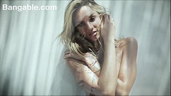 Blonde teen super model teens striptease dancing nude
