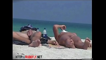 Naked bodies, naked boobs and pussy in this nude beach video