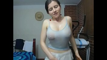 Gorgeous with nice big wet tits tease