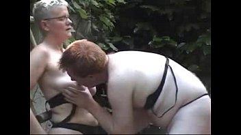 My mature wife is a lesbian bitch. Amateur older