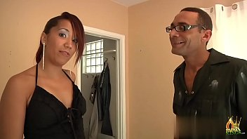 Ebony redhead slut with big ass fucking like a wild cat