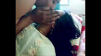 bashful indian honeymoon duo make-out
