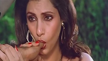 magnificent indian actress dimple kapadia deep-throating thumb lustfully.