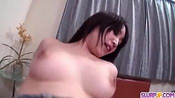 Shizuku Morino feels long dick inside her precious pussy